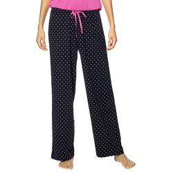 Hue Womens Polka Dot Long Pajama Pants