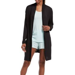 Hue Womens Solid Wrap Robe