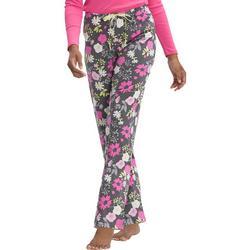 Womens Destiny Floral Print Long Pajama Pants