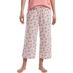 Hue Womens Fly Away Birds Capri Pajama Pants