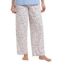 Hue Womens Teardrop Print Long Pajama Pants