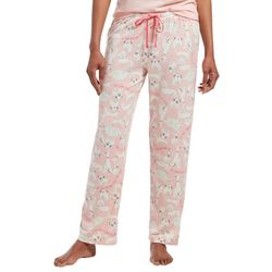 Hue Womens Dog Print Loose Pajama Pants