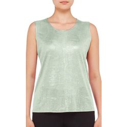 Hue Womens Solid Essential Pajama Tank Top