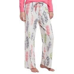 Hue Womens Falling Feathers Long Pajama Pants