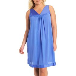 Exquisite Form Sleeveless V-Neck Nightgown