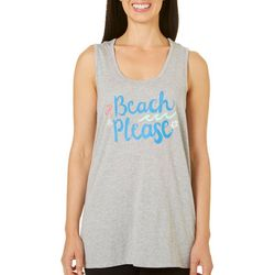 Coral Bay Womens Beach Please Pajama Tank Top