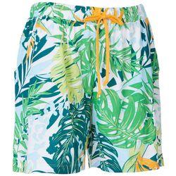Coral Bay Jungle Animal Pajama Shorts