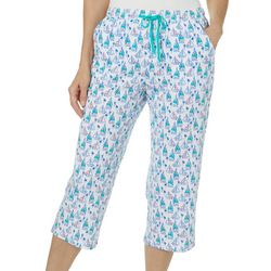 Coral Bay Womens Sailboat Pajama Capris