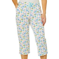 Coral Bay Womens Sunshine Capri Pajama Pants