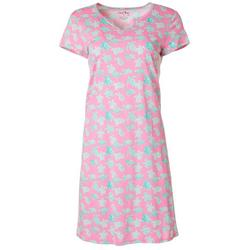 Womens Turtle Print Nightgown
