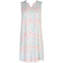 Coral Bay Womens Tropical Dress