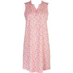 Coral Bay Womens Flamingo Dress