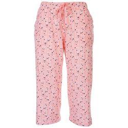 Coral Bay Womens All Over Flamingo Print Pajama