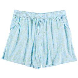 Coral Bay Womens Sea Turtle Pajama Shorts