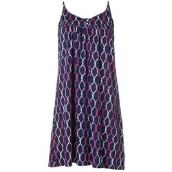 Nautica Womens Knotted Rope Chemise Nightgown