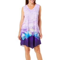 Amber Moran Womens Lanterns Strappy Back Nightgown