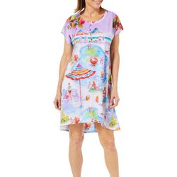 Ellen Negley Womens Pool Party Nightgown