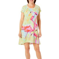 Ellen Negley Womens Birds Of A Feather Nightgown