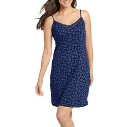 Womens Floral Chemise