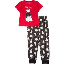 Jaclyn Intimates Plus Momma Bear Fam Jam Pajama