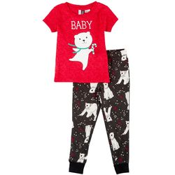 Toddlers Whisper Soft Baby Bear Pajama Set