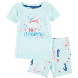 Jaclyn Intimates Infants Sandy Christmas Pajama Set
