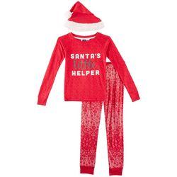 Jaclyn Intimates Childrens Santa's Helper Pajama Set