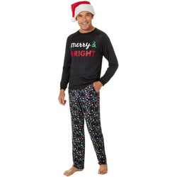 Jaclyn Intimates Mens Merry & Bright Pajama Set