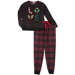 Womens Love Pajama Pants Set