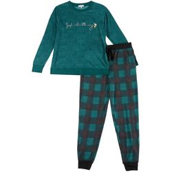 Jaclyn Intimates Womens Jingle All The Way Pajama Pants Set