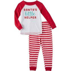 Jaclyn Intimates Toddlers Santas Little Helper Pajama Set