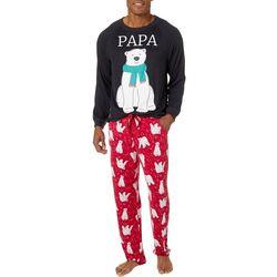 Jaclyn Intimates Mens Papa Bear Pajama Set
