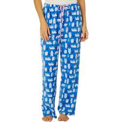 Goodnight Kiss Womens Bear Pajama Pants