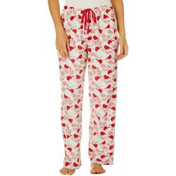 Goodnight Kiss Womens Cardinal Pajama Pants