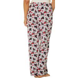 The Dream Lounge Womens Goodnight Kiss Scottie Pajama Pants