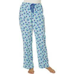 Goodnight Kiss Womens Owl Pajama Pants