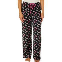 Goodnight Kiss Womens Cat Pajama Pants