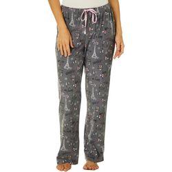 Goodnight Kiss Womens Paris Pajama Pants