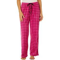 Goodnight Kiss Womens Dots Pajama Pants