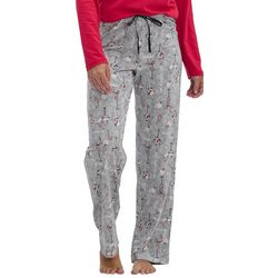 Womens Holiday Pour Long Pajama Pants