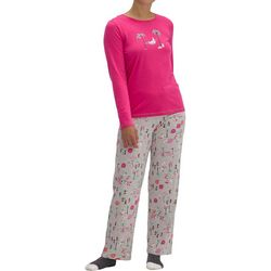 Womens Xmas At Beach Pajama Set