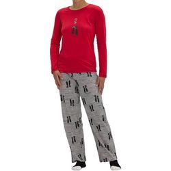 Hue Womens Kiss Me Cat Pajama Set