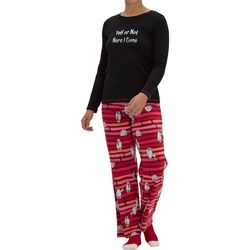 Womens Not Just Yeti Pajama Set