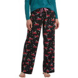 Hue Womens Holiday Car Print Pajama Pants
