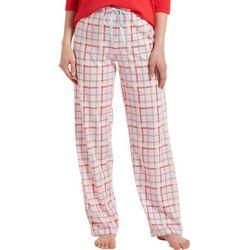 Hue Womens Plaid Print Pajama Pants