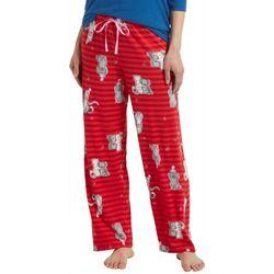 Hue Womens Hugging Holiday Pets Print Pajama Pants