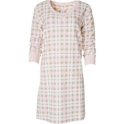 Echo Womens Plaid Nightgown