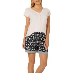 Echo Womens Monkey in The Middle Pajama Shorts