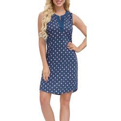 Womens Printed Tunic Nightgown