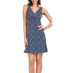 Ink + Ivy Womens Empress V-Neck Nightgown